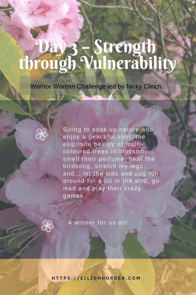 Day 3 - Strength through Vulnerability