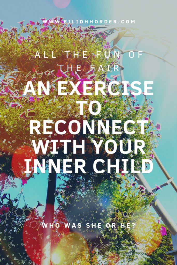 An exercise to reconnect with your inner child